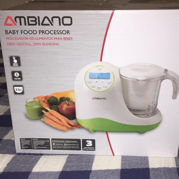 NWT Ambiano Baby Food Processor NWT